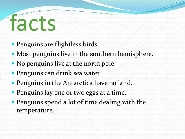 Can Penguins Drink Sea Water