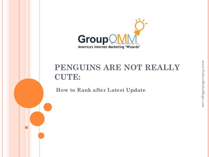 Penguins are not really cute how to rank after latest update