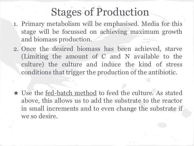 production of penicillin through fermentation