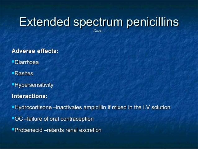 Ampicillin And Amoxicillin Metabolism