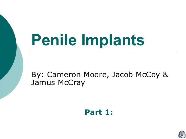 Penile implants powerpoint