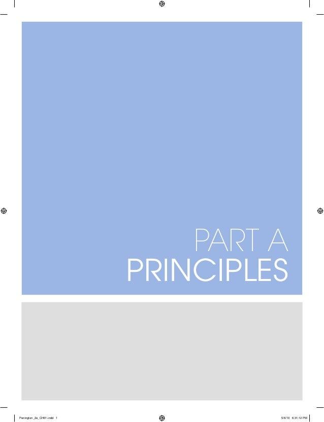 Part A Principles Penington_2e_CH01.indd 1 5/6/10 6:31:12 PM