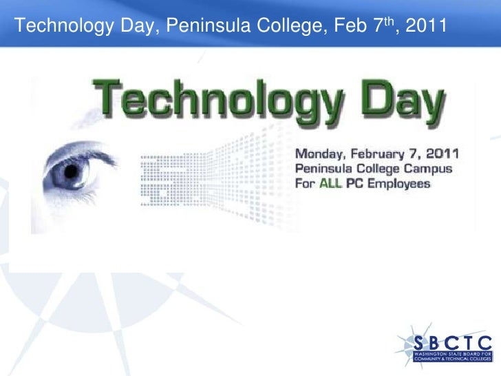 Technology Day, Peninsula College, Feb 7th, 2011<br />
