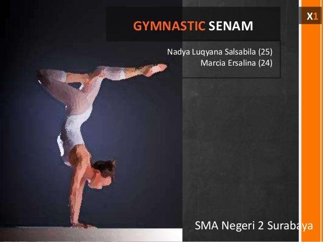 X1GYMNASTIC SENAM    Nadya Luqyana Salsabila (25)            Marcia Ersalina (24)           SMA Negeri 2 Surabaya