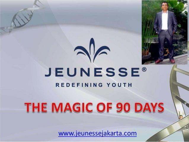 Penjelasan detail magic of 90 days by jeunesse jakarta