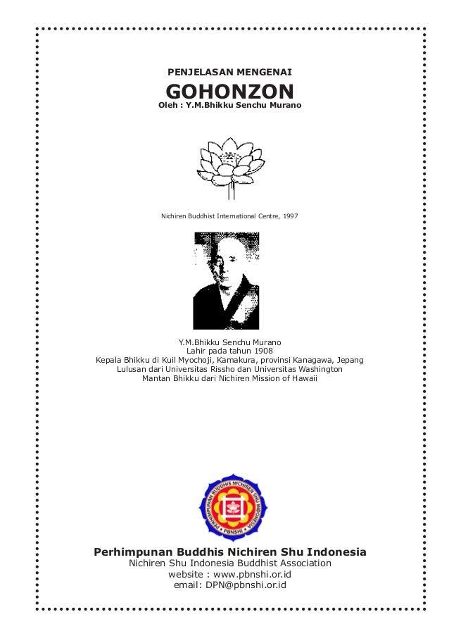 Y.M.Bhikku Senchu Murano Lahir pada tahun 1908 Kepala Bhikku di Kuil Myochoji, Kamakura, provinsi Kanagawa, Jepang Lulusan...