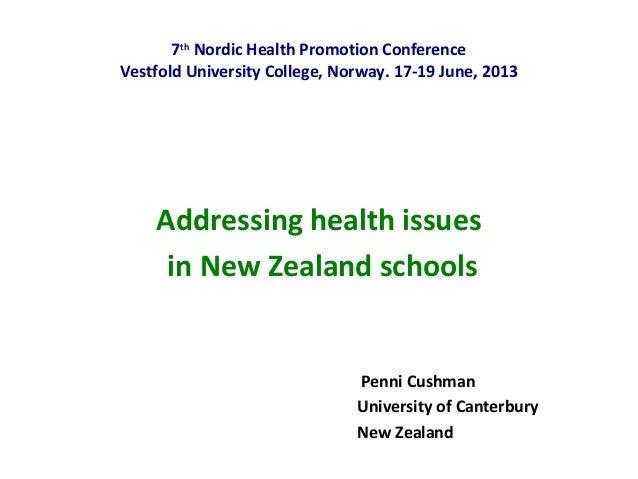 Penni Cushman NHPRC 2013
