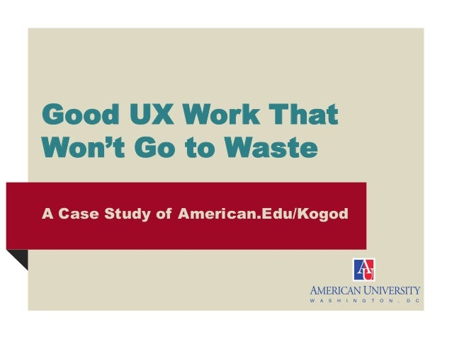 UX Results Through Research: Penn State Web Conference