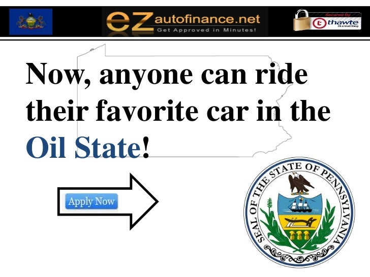 Pennsylvania Auto Loans - It's Time to Enjoy Guaranteed Low Rates on Your Car Loan with Bad Credit