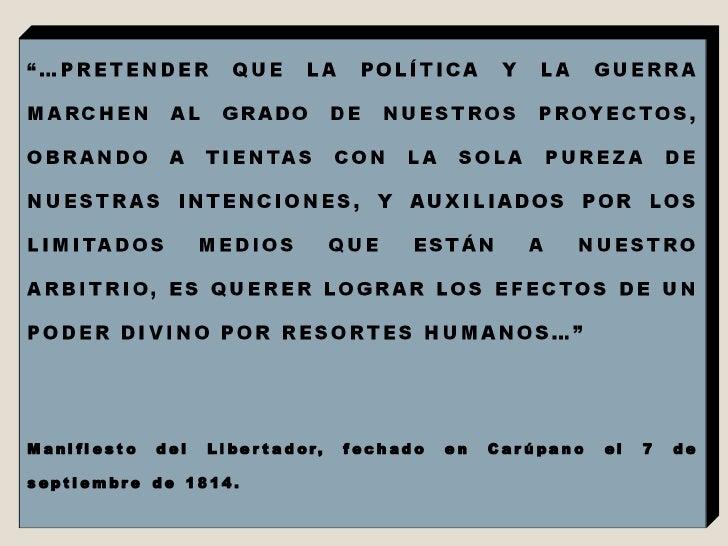 Pensamiento Estrategico De Bolivar