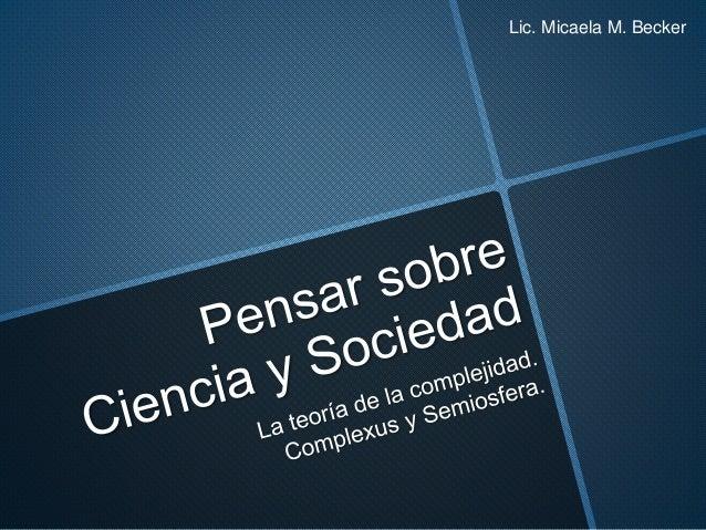 Lic. Micaela M. Becker