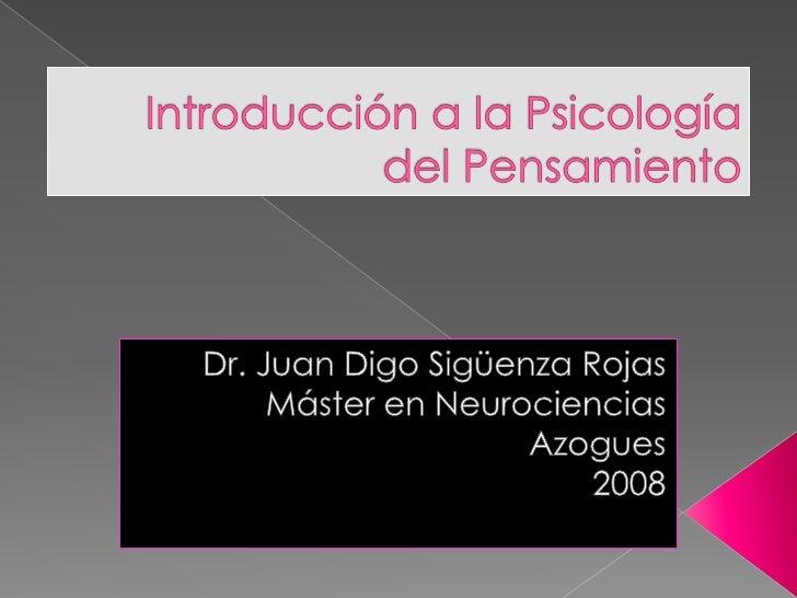  Wundt: comienzo de la Psicología  Experimental. Acercamiento a los métodos,  técnicas y visiones de las ciencias de  la...