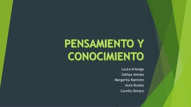 Laura Arteaga Sathya Arenas Margarita Ramírez Aura Bustos Camila Orozco