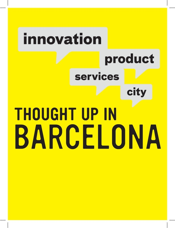 Innovation in products and services