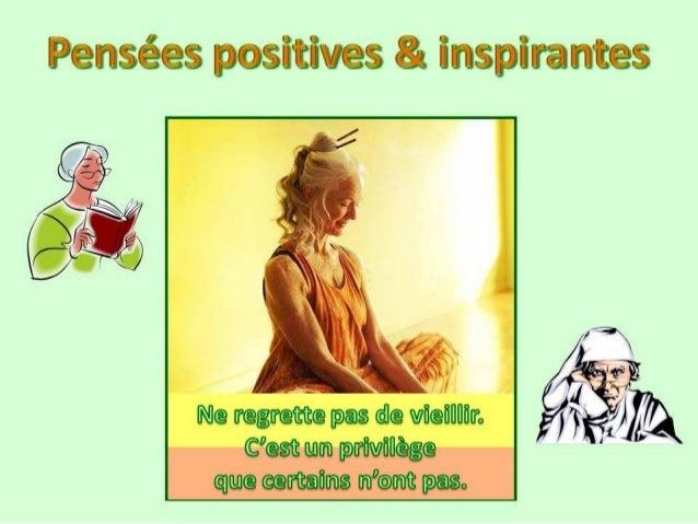 Pensees positives & inspirantes