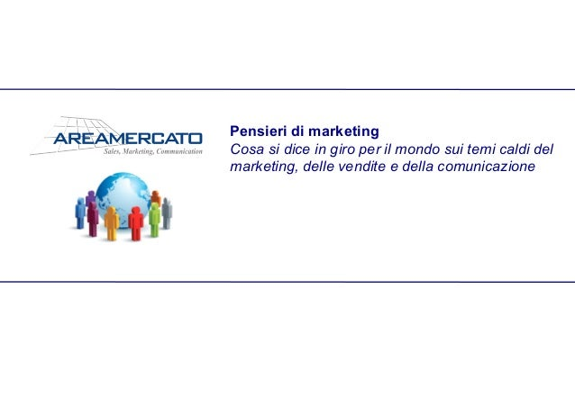 Pensieri di marketing
