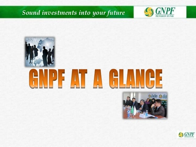 Sound investments into your future