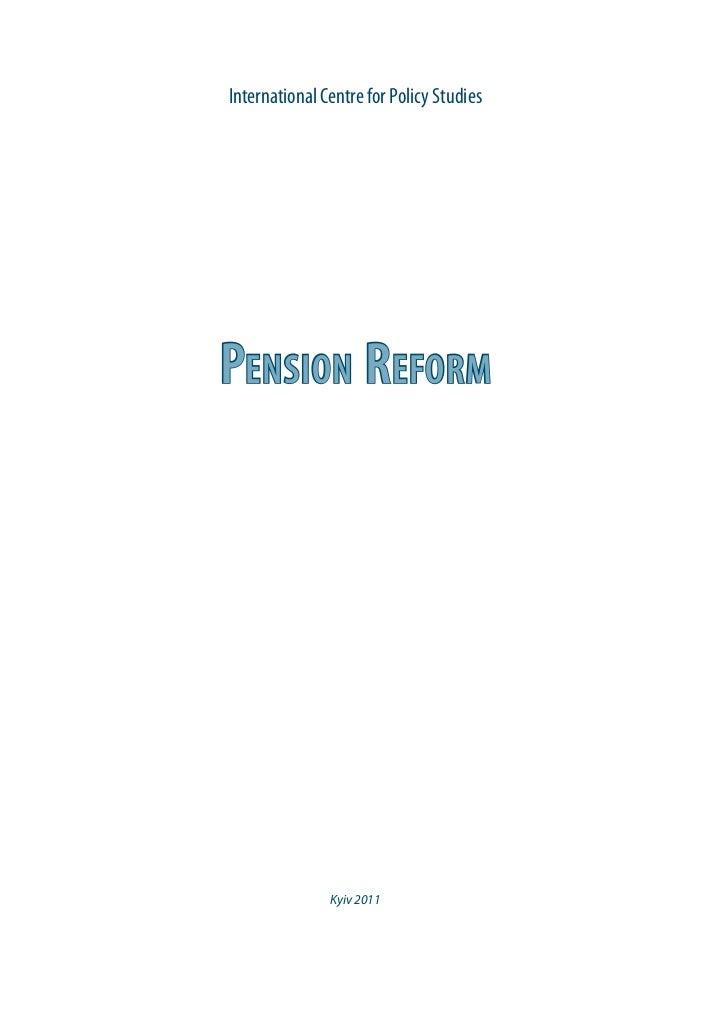 Pension reform eng