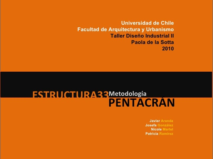 Metodología Pentacrán vs Munari