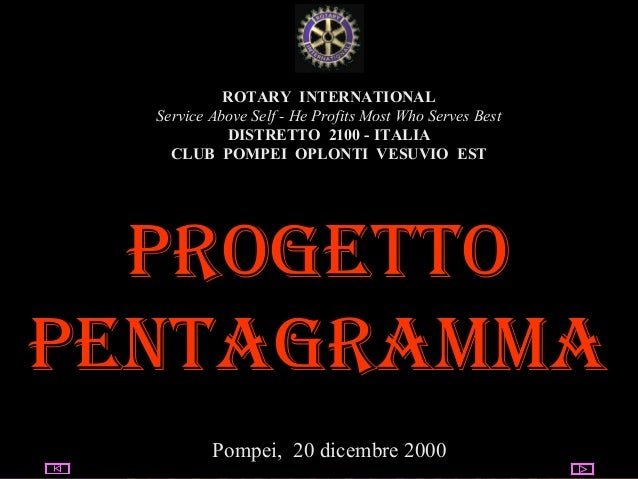 05/03/14 utente@dominio ClubPompeiOplontiVesuvio Est ROTARY ROTARY INTERNATIONAL Service Above Self - He Profits Most Who ...