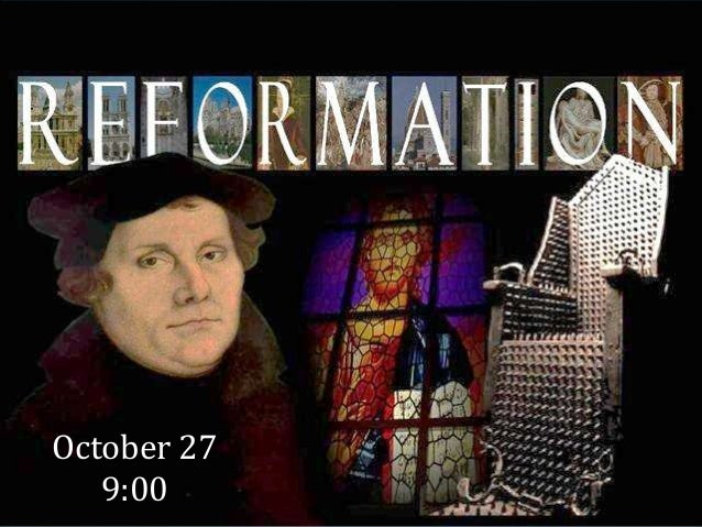 Pentecost 23 13 combined final reformation sunday