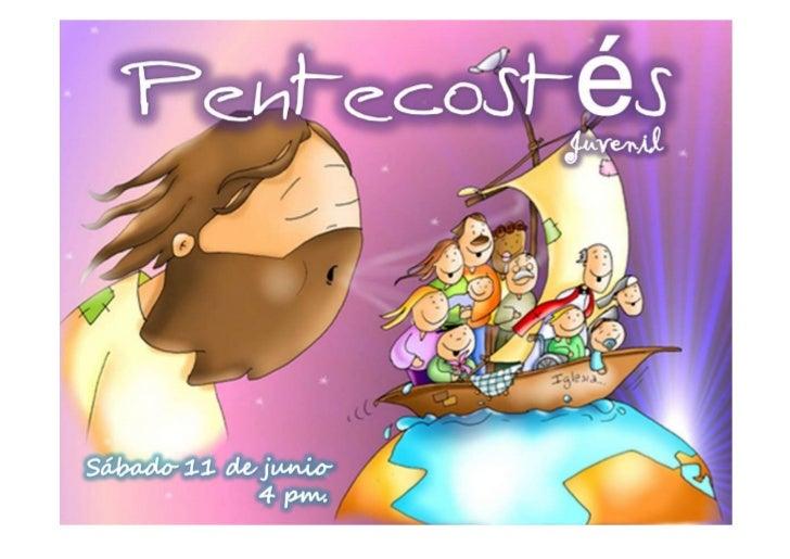 MANUAL DE PENTECOSTES JUVENIL