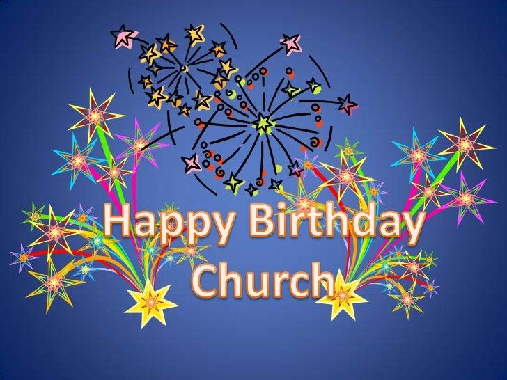 Happy Birthday Church<br />