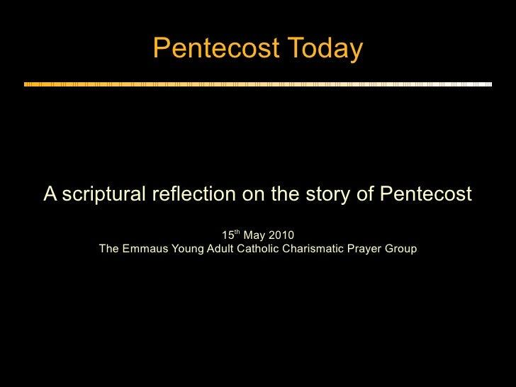Pentecost todaypdf