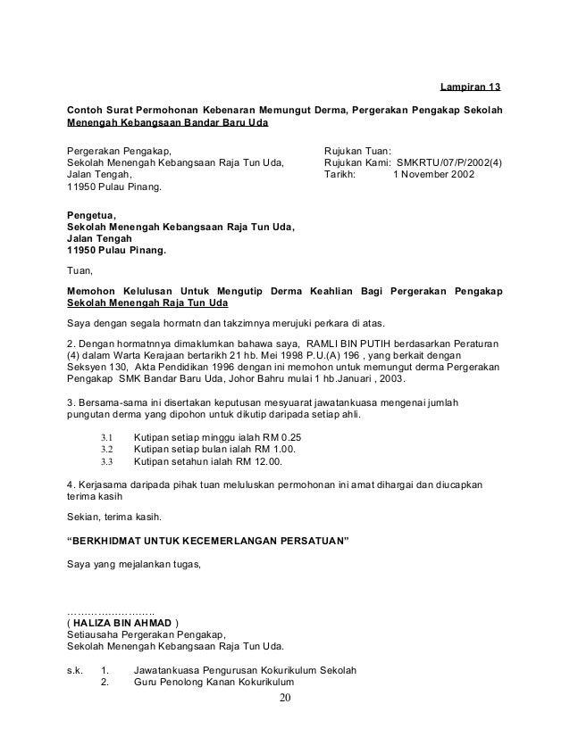 Contoh Surat Pernyataan Kehilangan Faktur Surat 26