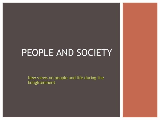 People and society 2013
