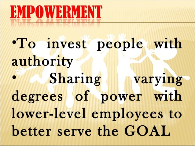 people empowerment Youth empowerment is a process where children and young people are encouraged to take charge of their lives they do this by addressing their situation and then take action in order to.