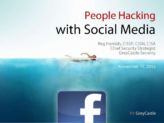 People hacking with social media