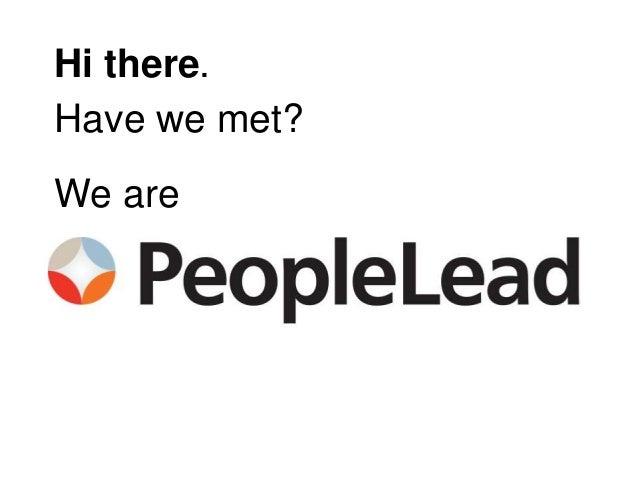 #CultureCode: PeopleLead