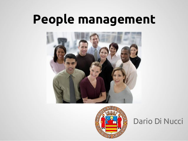 People managementDario Di Nucci