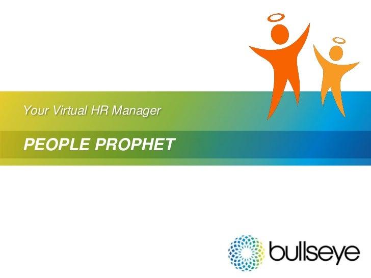 Welcome to People Prophet