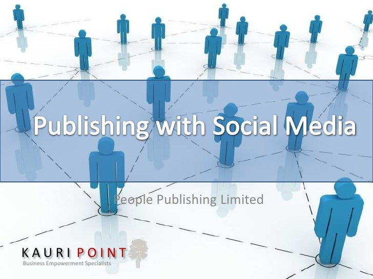 People Publishing Limited   Social Media Opportunity