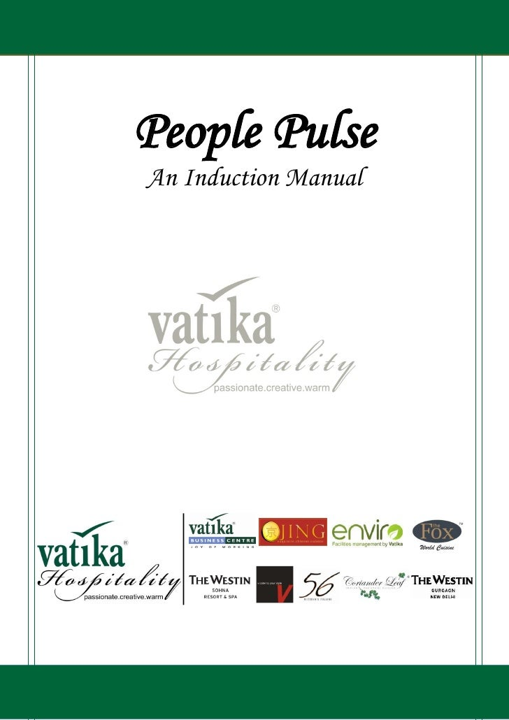 People PulseAn Induction Manual