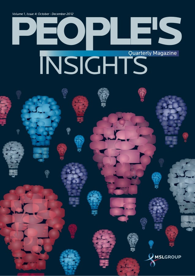 People's Insights Quarterly Magazine Issue 4