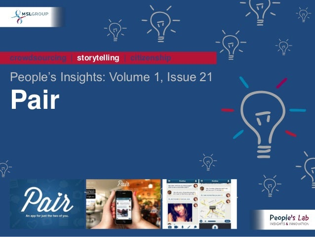 crowdsourcing | storytelling | citizenshipPeople's Insights: Volume 1, Issue 21Pair