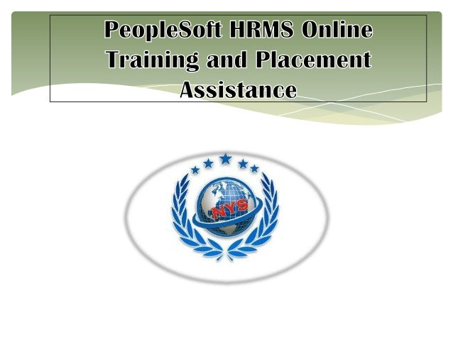 PeopleSoft HRMS Advanced Online Training Classes