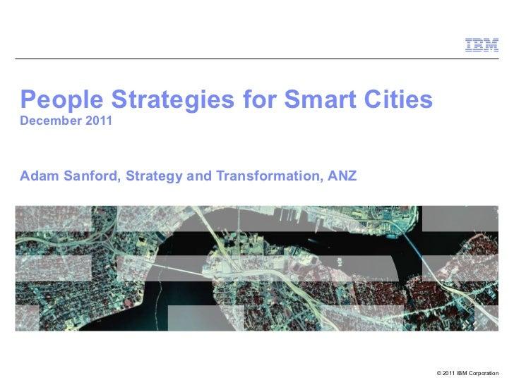 People Strategies for Smart Cities