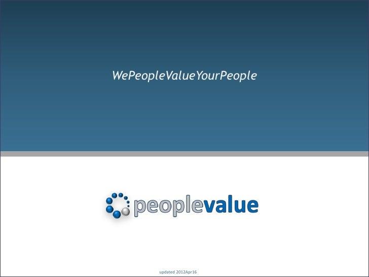PeopleValue_Presentation