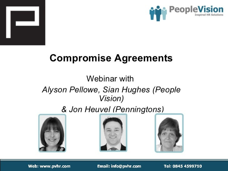 Compromise Agreements - With Penningtons and People Vision