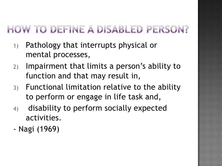I want to write a speech about discrimination against people with disabilities. Any points?