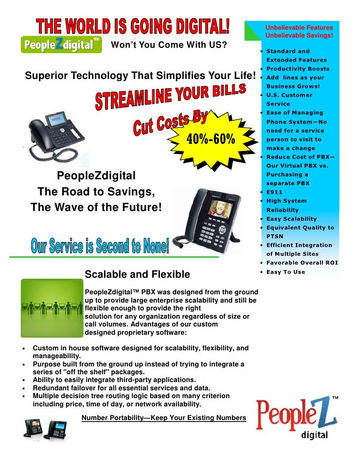 Peoplez Digital Commercial VOIP