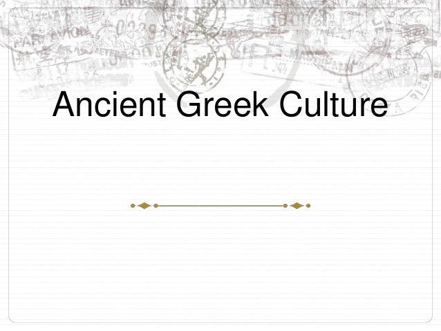 Classical Greek culture