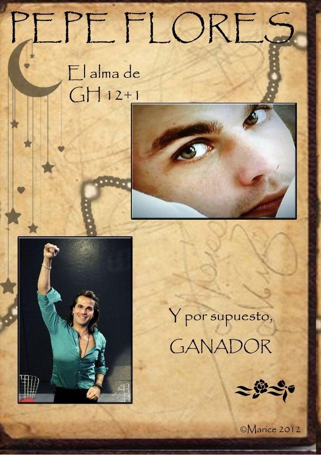 Jose Flores Dorado, nació en Mataró, el día 13 de Junio de 1978 y desde muypequeño se inclinó por el baile, estudiando en ...