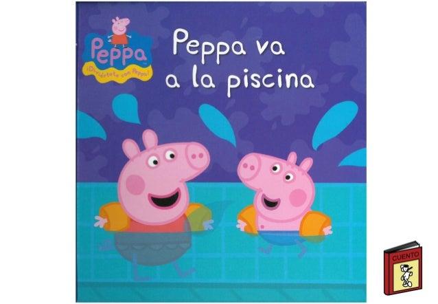 Peppa pig va a la piscina - Peppa pig piscina ...