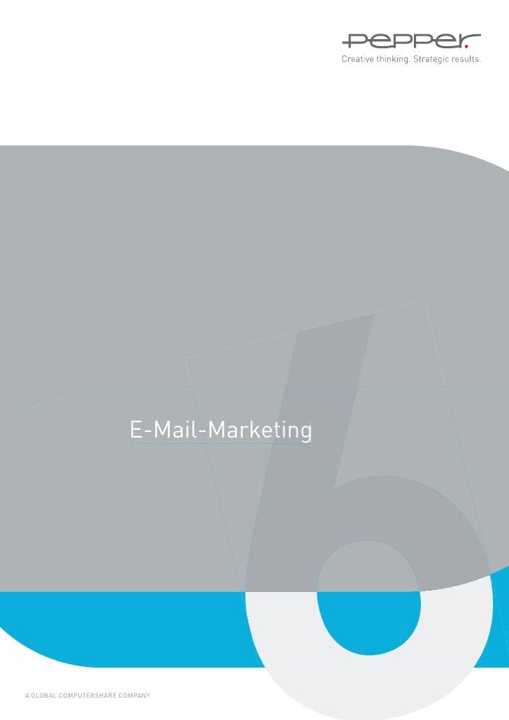 E-Mail-MarketingA GLOBAL COMPUTERSHARE COMPANY