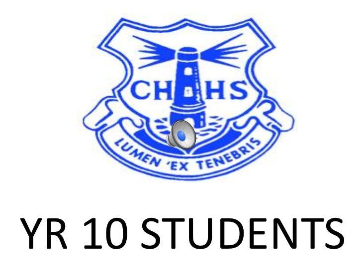 YR 10 STUDENTS<br />